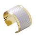 Golden Bangle White Neon Python